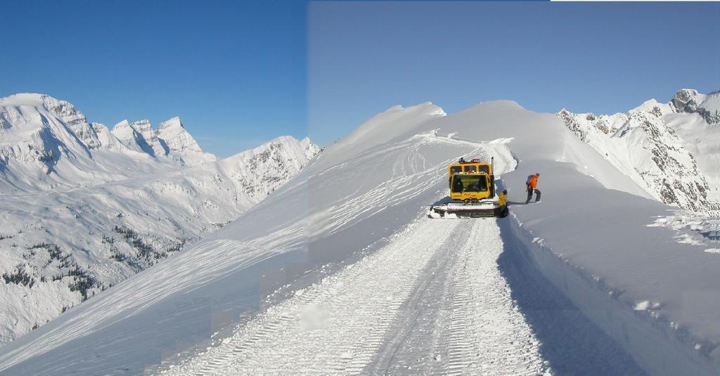 Chattercreek snowcat skiing
