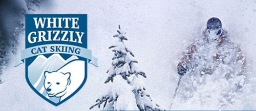 white grizley cat skiing