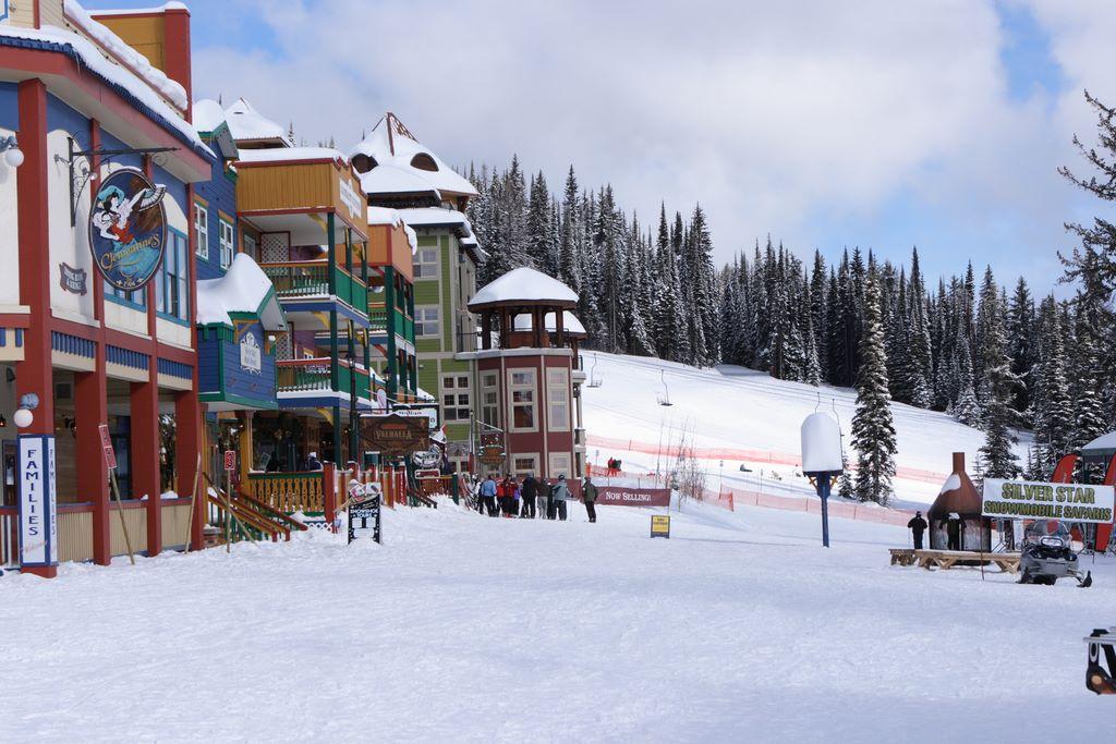 Silver star mountain resort powder canada for Silver mountain cabins