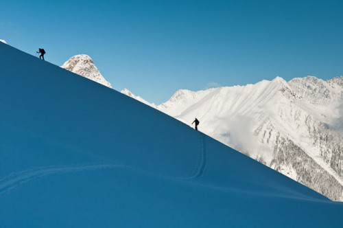 Greg Hill climbing