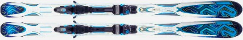 K2 Aftershock all-mountain skis