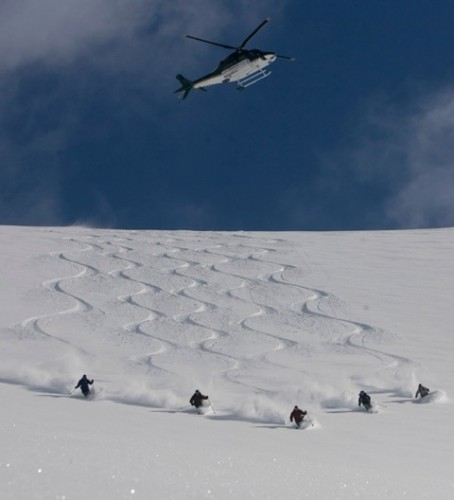 Northern Escape group heli