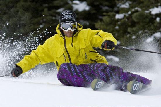 Mike Douglas skier