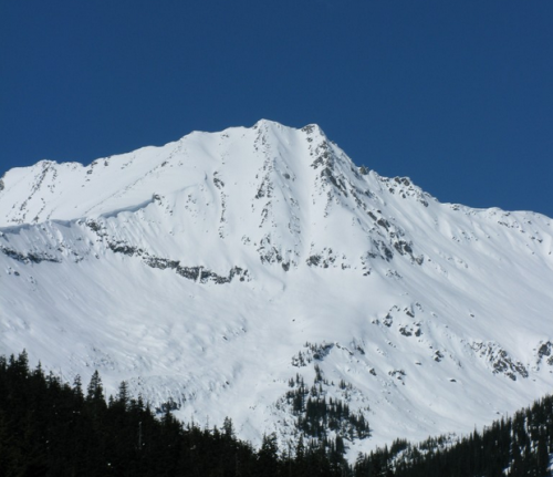 Grizzly Mountain Couloir