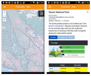 Mountain information network