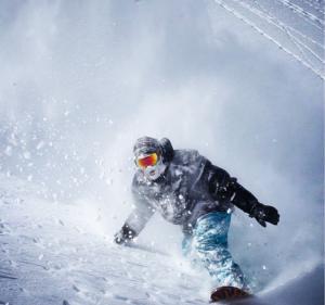 Powdersurfing