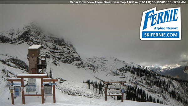 Fernie webcam