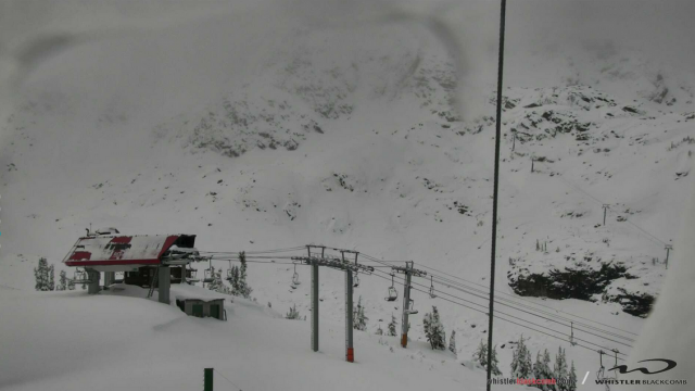 Whistler/Blackcome snow on October 17