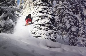 Red Mountain powder