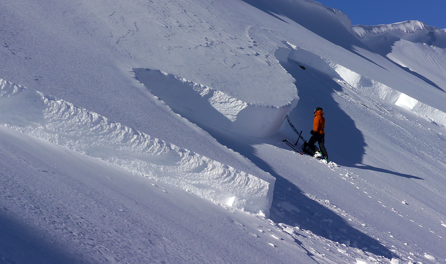 large slab avalanche