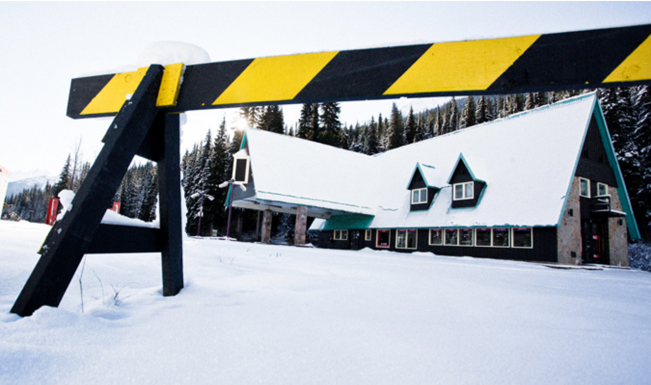 Rogers Pass hotel