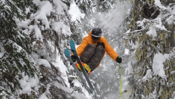 Freeride World  event at Kicking Horse