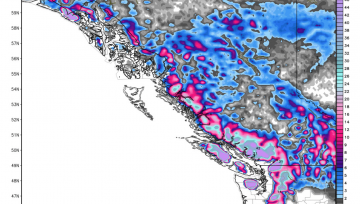 Most Snow on Earth Headed to BC