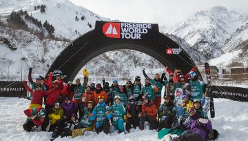 Freeride World Tour applies Gender Equality