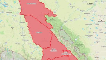 Avalanche Canada Special Avalanche warning