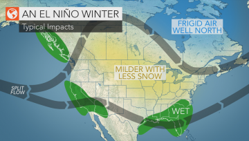 A Strong El Nino Develops
