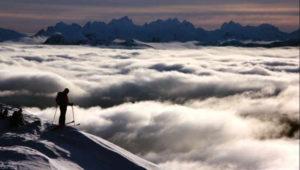 Mt cain skier