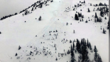 Banff avalanche accident report from Adam Campbell