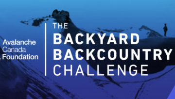 Avalanche Canada's Backyard Backcountry Challenge