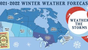 Farmer's Almanac 2021–2022 Winter Forecasts